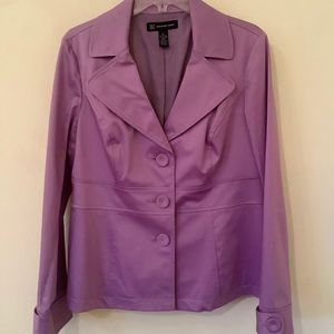 INC Lavender Blazer with 3 Buttons